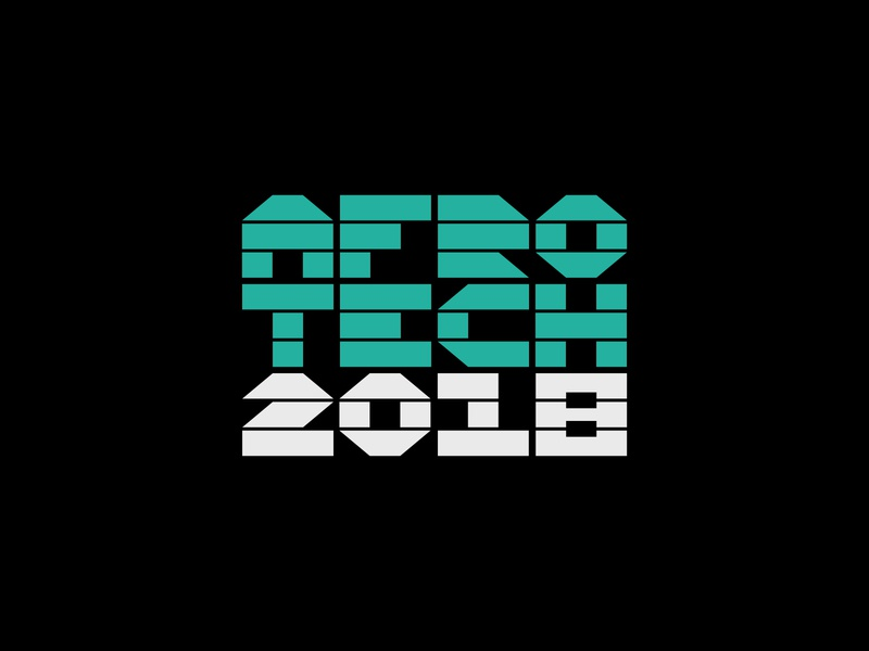 Afrotech 2018 afro conference tech type branding