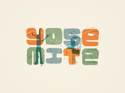 Yosemite illustration logotype nature handlettering hand drawn hiking typography type yosemite national park
