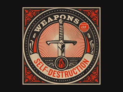 Weapons of Self-Destruction - Week 1 propaganda church branding series destruction obey weapon