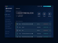 Blocknet Wallet - Dashboard