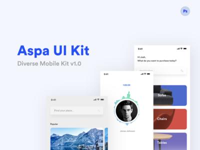 Aspa UI Kit