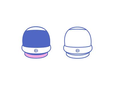 Space Helmet space helmet alien headware noggin