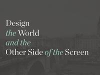 Design & The World