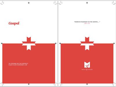 Proof print book booklet proof press check typography cross church gospel