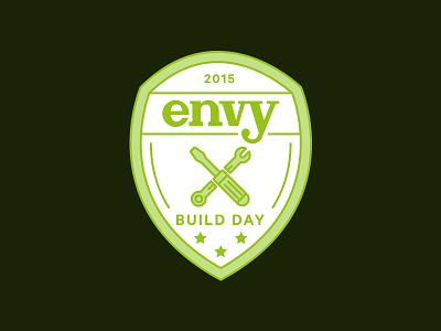 Build Day shield crest tools badge build hack hack day