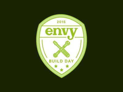 Build Day shield crest tools badge build hack hack day