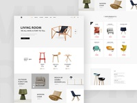 Home Furnishing web design