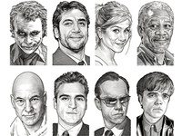 Wall Street Journal Hedcuts 2