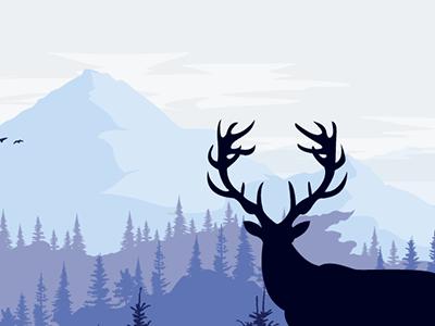 Preview of National Parks Celebration illustration