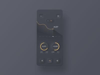 Personal Finance App Concept