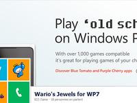 "Play ""old school"" on Windows Phone"
