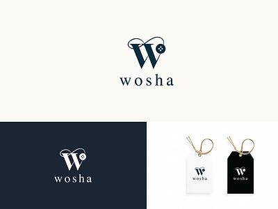 wosha-nepali fashion brand logo fashion brand graphic