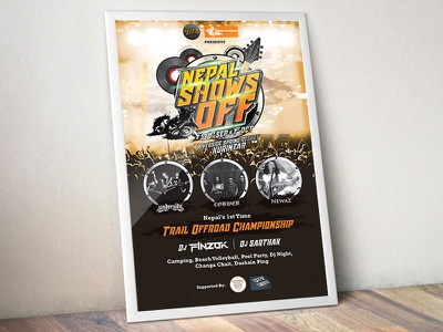 Poster concert offroad