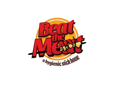 Beat The Meat food logo