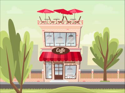 Coffe trees city coffe