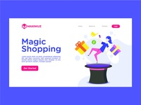 Magic Shopping Landing Page