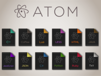 Atom File Icons