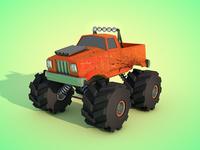 Simple Monster Truck