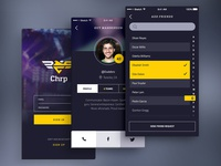 Dark App UI