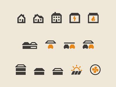 House structure symbols