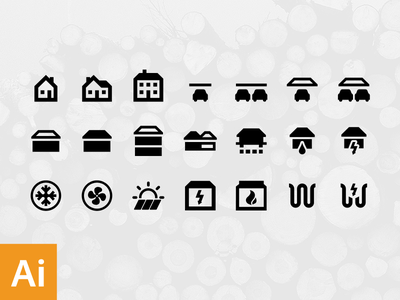 House structure free icons house freebie free icon vector illustrator black construction architect engineer ai download
