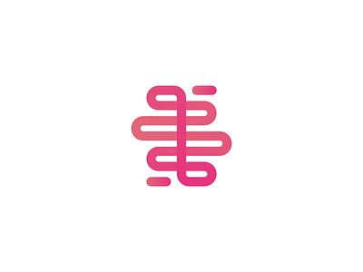 Brain Explosion logo brand identity symbol brain explosion research ux one-line idea concept studio