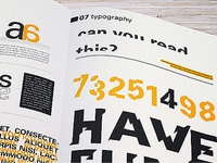 Typeface book