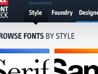 Browse fonts by style
