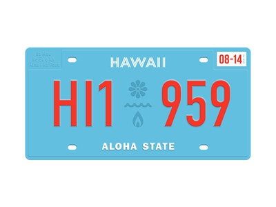 State Plates Project – Hawaii stateplatesproject hawaii