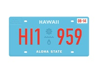 State Plates Project – Hawaii