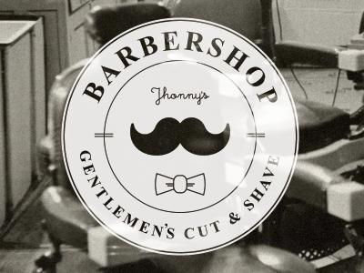 Barber shop label barber shop logo barber moustache branding gentlemens