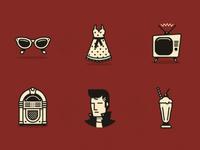 1950's Icons