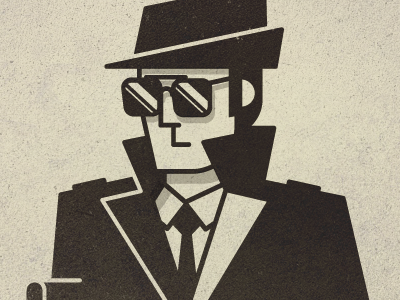 Field Agent spy field agent espionage sun glasses trench coat