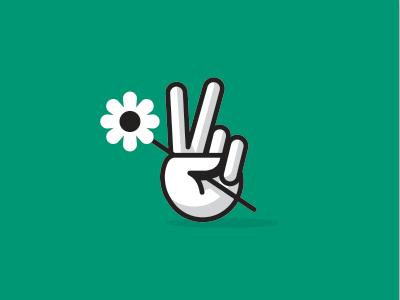 Peace  peace flower icon