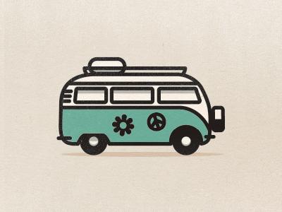 VW bus vw bus hippie bus 70s volskwagen surfin surfing california