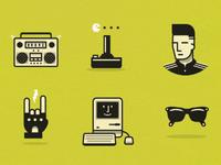 1980's Icons