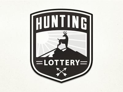 Hunting Logo hunting badge logo deer game