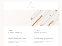 Website Landing Page nudepalette nude classy elegant web ecommerce website web design startup smoking luxury light landing page landing gold fashion design consumer goods clean branding