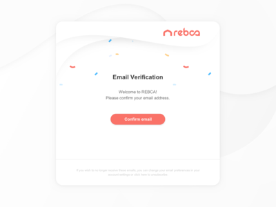 REBCA Branding Assets: Email Notification Template