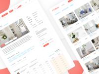 Website UI – REBCA Listings