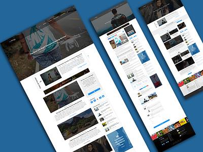 weBlogg - Best Blogging PSD Template Specially For BLOGGERS psd blog blogging