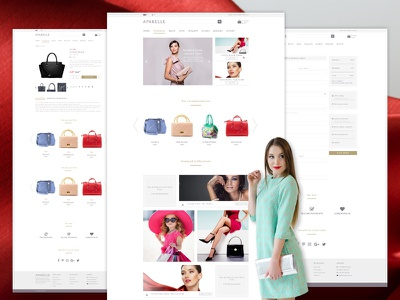 Aparelle eCommerce PSD Template order tracking woocommerce stylish store shop retail masonry fashion clothing clean cart