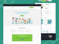 SEO agency web template