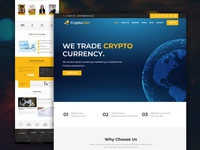 CryptoCoin - Crypto Currency Web Template