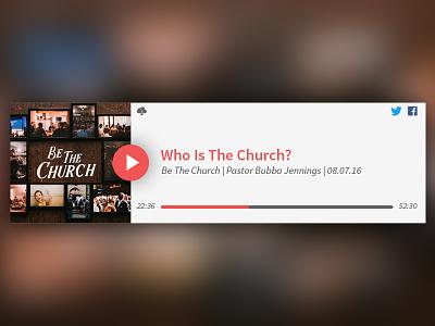 Sermon Manager Mockup website christian audio player sermon church wordpress plugin