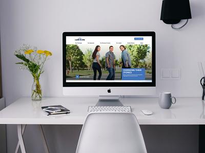 LearnFourLife B2B Website web development charter schools students web design b2b education wordpress