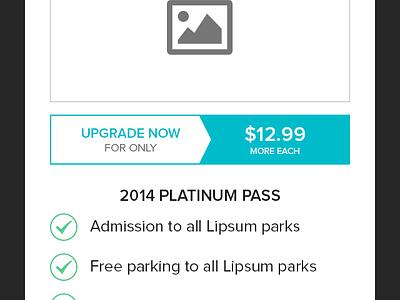 Upsells upsell commerce sale upgrade season pass modal