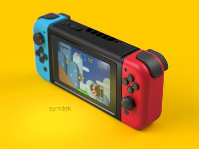 Mini Nintendo Switch bulletbill mario fat nintendo nintendoswitch render syndek