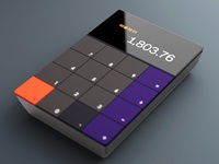 Calculator with UHD display