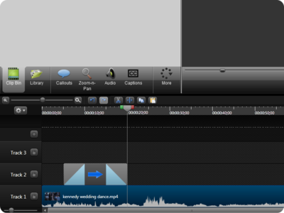 Camtasia Studio 8 Timeline timeline screencasting video editor